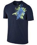 koszulka tenisowa męska NIKE RF TEE / 831482-410
