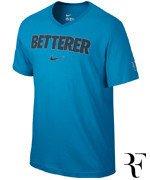 koszulka tenisowa męska NIKE ROGER FEDERER BETTERER V-NECK TEE