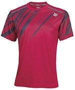 koszulka tenisowa męska WILSON PRINT CREW NECK / WRA741102