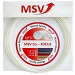 naciąg tenisowy MSV CO.-FOCUS 12M WHITE