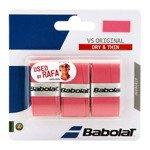 owijka tenisowa BABOLAT VS ORIGINAL GRIP X3 pink / 653040-156