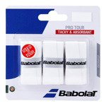 owijka tenisowa BABOLAT X3 PRO TOUR white/białe / 653037-101