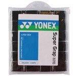 owijki tenisowe YONEX SUPER GRAP  x 12 black / AC102EX black