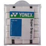 owijki tenisowe YONEX SUPER GRAP  x 12 white / AC102EX white