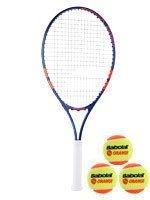 rakieta tenisowa juniorska BABOLAT ROLAND GARROS 25 +3 piłki BABOLAT ORANGE / 151032, 190011-209
