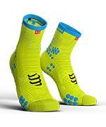 skarpety kompresyjne COMPRESSPORT PRO RACING SOCKS V3.0 HIGH SMART (1 para) / FLUO YELLOW