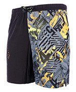 spodenki do biegania męskie REEBOK ONE SERIES GRAPHIC BOARD SHORT / B47129