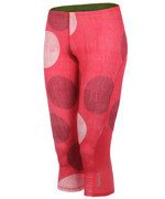 spodnie do biegania damskie 3/4 REEBOK ESSENTIALS CAPRI DOT / B86564