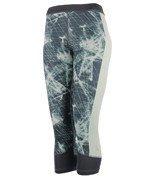 spodnie sportowe damskie 3/4 ADIDAS TECHFIT CAPRI PRINTED / AY4323