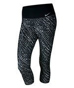 spodnie sportowe damskie 3/4 NIKE POWER TRAINING POLY CAPRI / 833750-010