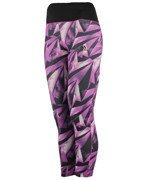 spodnie sportowe damskie ADIDAS 3/4 HIGH RISE TIGHT ALLOVER PRINTED / AY6187