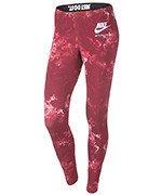 spodnie sportowe damskie NIKE LINTERNATIONAL LEGGING ALLOVER PRINTED / 827298-681