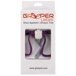 sznurówki zaciskowe GREEPER SPORT (1 para) / PURPLE