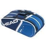 torba tenisowa HEAD CORE SUPERCOMBI / 283295 BLBL
