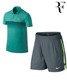 koszulka i spodenki tenisowe męskie NIKE Roger Federer European Clay Court