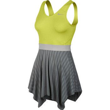Sukienka tenisowa NIKE NOVELTY KNIT DRESS Serena Williams French Open 2014