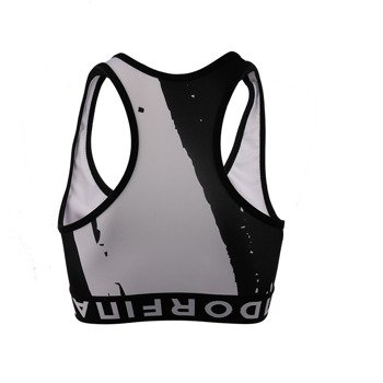 biustonosz sportowy ENDORFINA TOP BRUSH BLACK / JZ16-6265