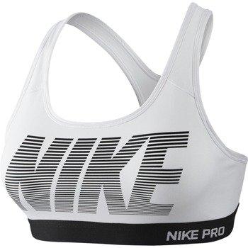 biustonosz sportowy NIKE PRO CLASSIC PADDED GRAPHIC BRA / 726934-100