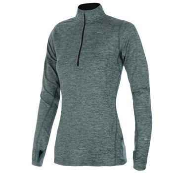 bluza do biegania damska NIKE ELEMENT HALF ZIP / 481320-320