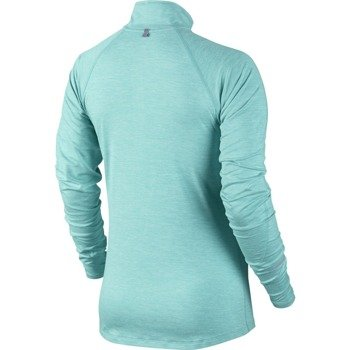 bluza do biegania damska NIKE ELEMENT HALF ZIP / 481320-466