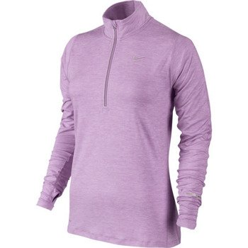 bluza do biegania damska NIKE ELEMENT HALF ZIP / 481320-510