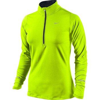 bluza do biegania damska NIKE ELEMENT HALF ZIP / 481320-704