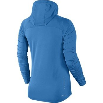bluza do biegania damska NIKE ELEMENT HOODY / 685818-435