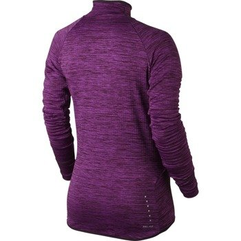 bluza do biegania damska NIKE ELEMENT SPHERE 1/2 ZIP / 686963-507