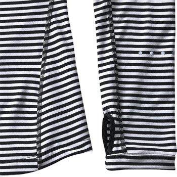 bluza do biegania damska NIKE ELEMENT STRIPE 1/2 ZIP / 645648-010