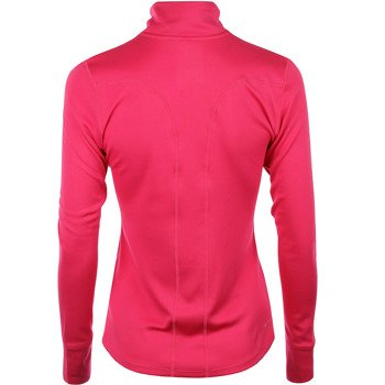 bluza do biegania damska NIKE RACER LS 1/2 ZIP TOP / 648358-616