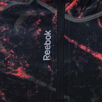 bluza do biegania damska REEBOK RUNNING ESSENTIALS LONG SLEEVE 1/4 ZIP BOX FLEECE / A99191