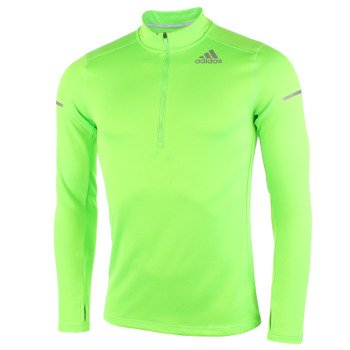 bluza do biegania męska ADIDAS SEQUENCIALS HALF ZIP LONGSLEEVE / G91738