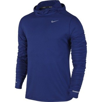 bluza do biegania męska NIKE DRI-FIT ELEMENT HOODIE / 803877-455