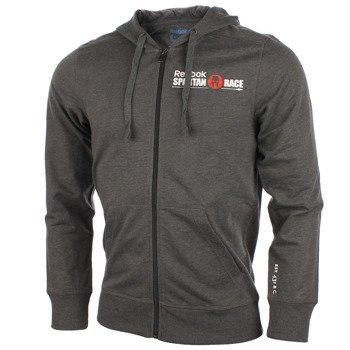 bluza do biegania męska REEBOK SFM FZ HOOD / Z93713