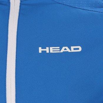 bluza tenisowa chłopięca HEAD CLUB JACKET / 816025 BL