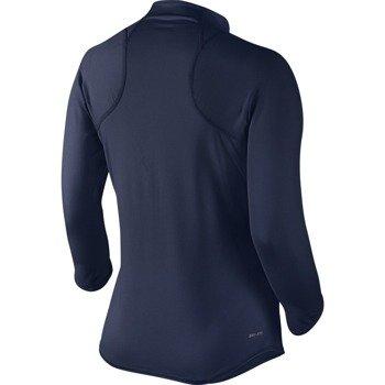 bluza tenisowa damska NIKE BASELINE 1/2 ZIP TOP / 546075-410