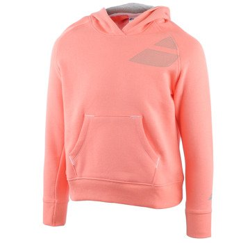bluza tenisowa dziewczęca BABOLAT SWEAT HOODIE CORE / 42F1588-156