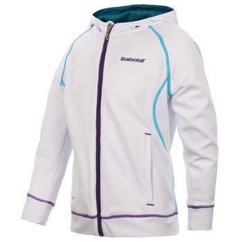 bluza tenisowa dziewczęca BABOLAT SWEAT MATCH PERFORMANCE / 42S1446-101