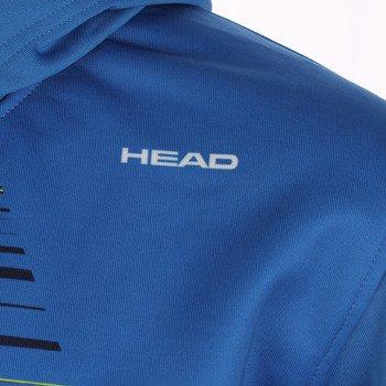 bluza tenisowa męska HEAD ZING HOODY / 811104 BCNV