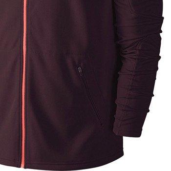 bluza tenisowa męska NIKE PRACTICE FULL ZIP KNIT HOODY / 620795-677