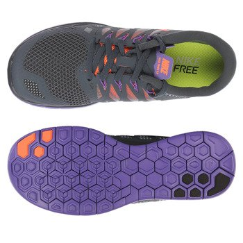 buty do biegania damskie NIKE FREE 5.0 / 642199-004