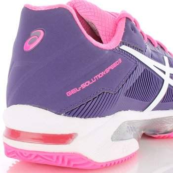 buty tenisowe damskie ASICS GEL-SOLUTION SPEED 3 CLAY / E651N-3301