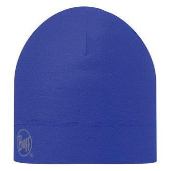 czapka do biegania BUFF COOLMAX 1 LAYER HAT BUFF SOLID BLUE INK / 111498.752