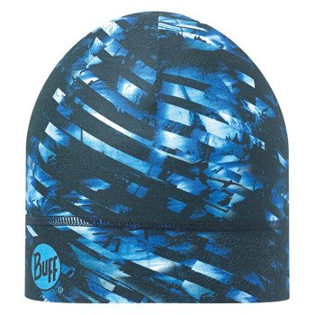 czapka do biegania BUFF COOLMAX 1 LAYER HAT BUFF STOLEN DEEP BLUE / 111499.708