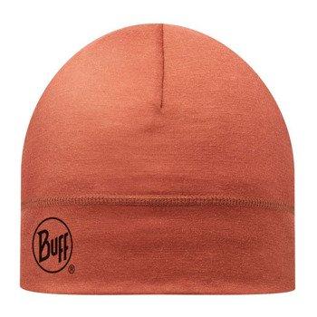 czapka do biegania BUFF MERINO WOOL HAT BUFF SOLID ROOIBOS TEA / 111162.214.10
