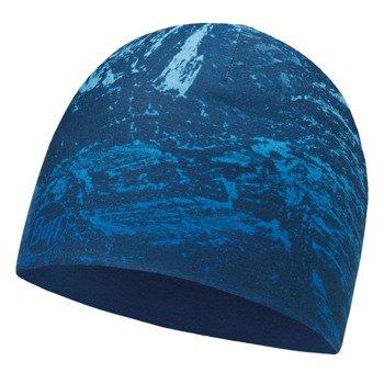 czapka dwustronna do biegania BUFF MICROFIBER REVERSIBLE HAT BUFF MOUNTAIN BITS / 113170.707.10