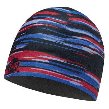 czapka dwustronna do biegania BUFF MICROFIBER REVERSIBLE HAT BUFF NEW ELDER / 113171.555.10