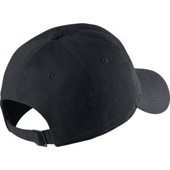 czapka sportowa juniorska NIKE NEW SWOOSH HERITAGE CAP / 546178-010