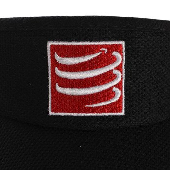 daszek biegowy COMPRESSPORT VISIOR CAP black / RACS-0025