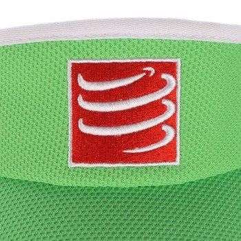 daszek biegowy COMPRESSPORT VISIOR CAP green / RACS-0026